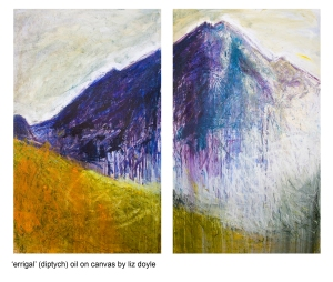 liz doyle paintings for OPW 003