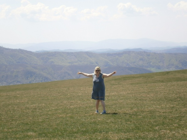 me being Julie Andrews, in The Sound of Music