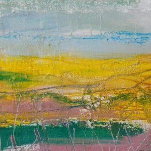 a recent 'bog colours' painting