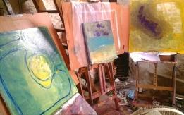 in the studio June 2014